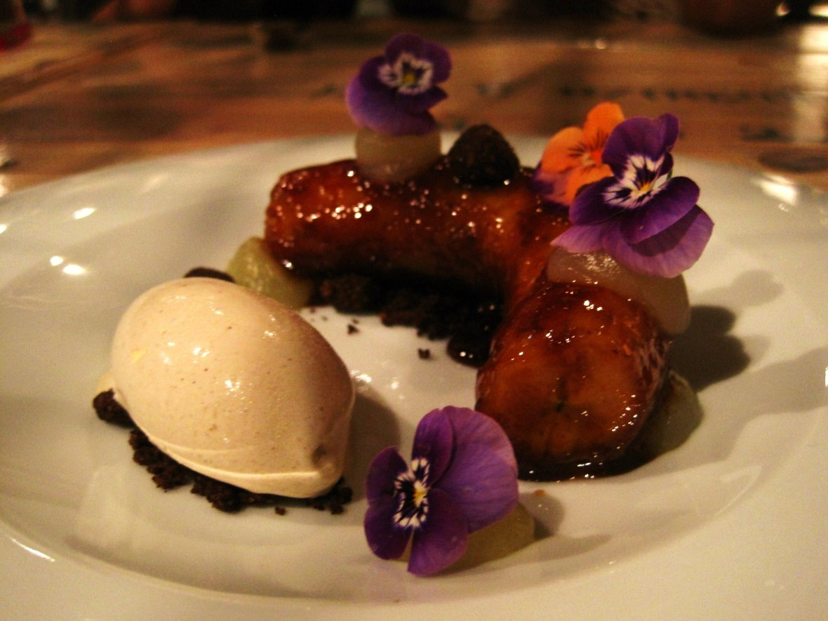 """Hare & Grace - another view of the """"Braised Banana"""""""