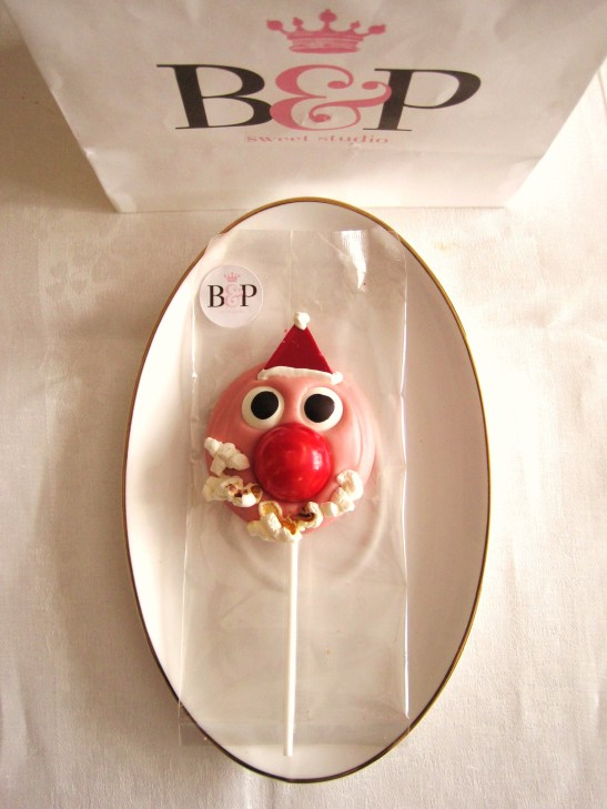 "MoMo & Coco's Advent Calendar 2012 - Christmas with Burch & Purchese - the ""Santa Lollipop"""
