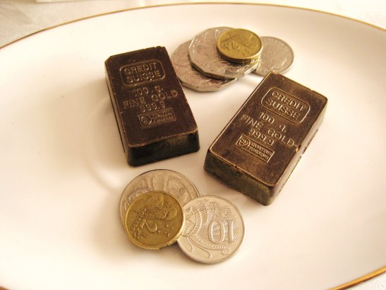 "MoMo & Coco's Advent Calendar 2012 - Christmas with Burch & Purchese - the ""Gold Bullion Bars"""