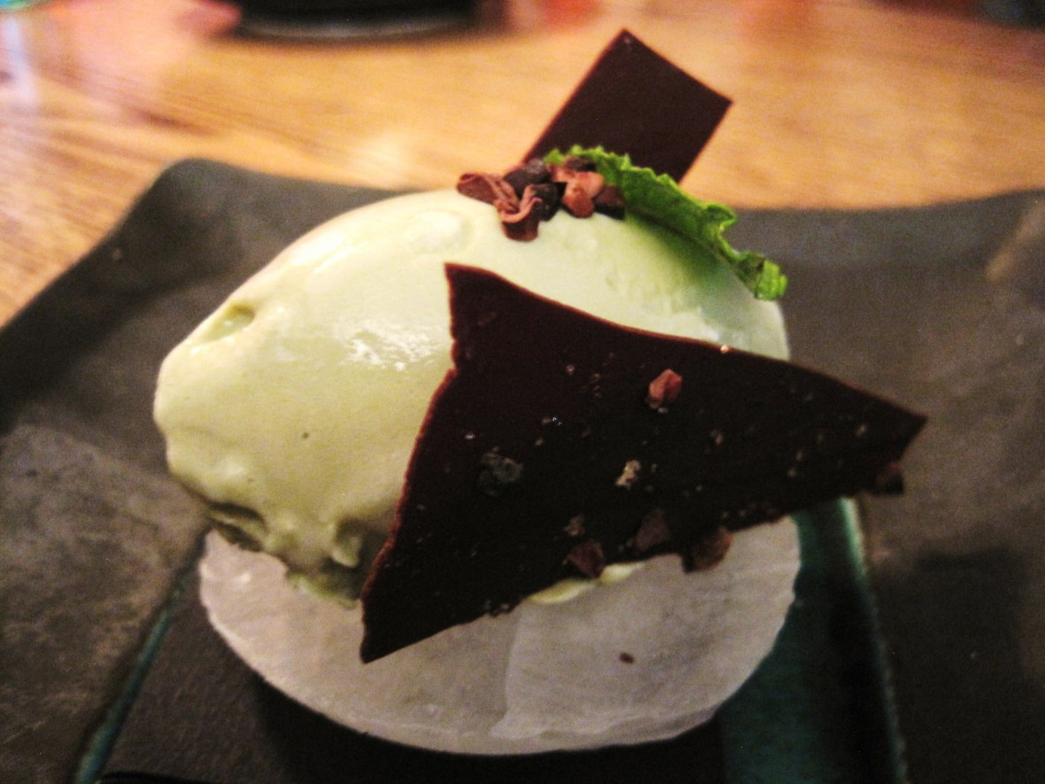 """Claremont Tonic - the """"Mint Tea Ice Cream"""""""