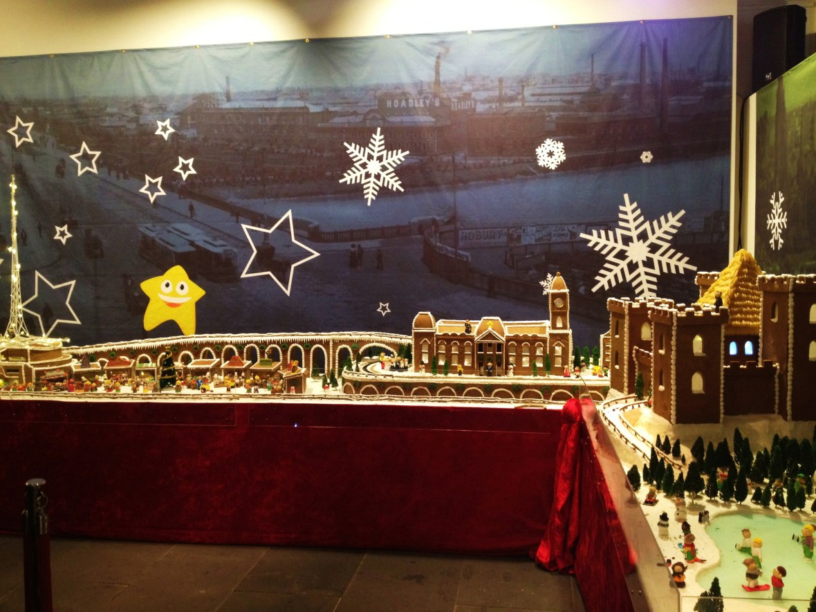Gingerbread Village by Epicure at the Melbourne Town Hall, December 2012