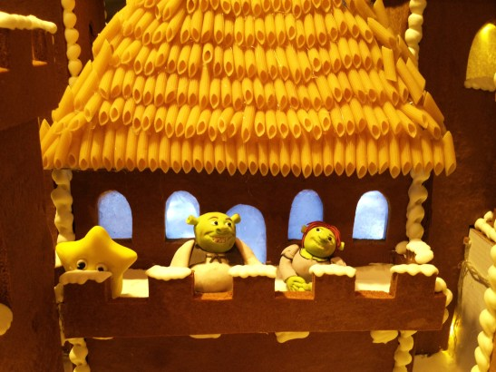 "Gingerbread Village by Epicure at the Melbourne Town Hall, December 2012 - the ""Shrek Fairytale Castle"""