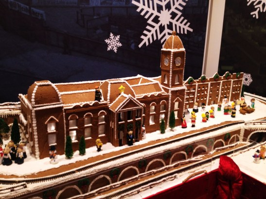 "Gingerbread Village by Epicure at the Melbourne Town Hall, December 2012 - the ""Melbourne Town Hall"""