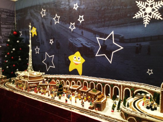 "Gingerbread Village by Epicure at the Melbourne Town Hall, December 2012 - the ""Christmas Market"""