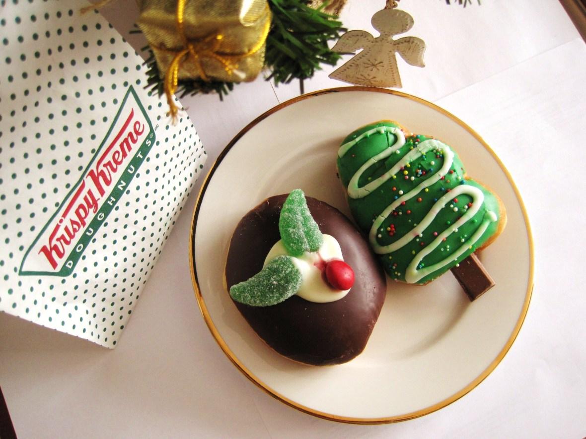 MoMo & Coco's Christmas Dessert Bargain Guide - from Krispy Kreme