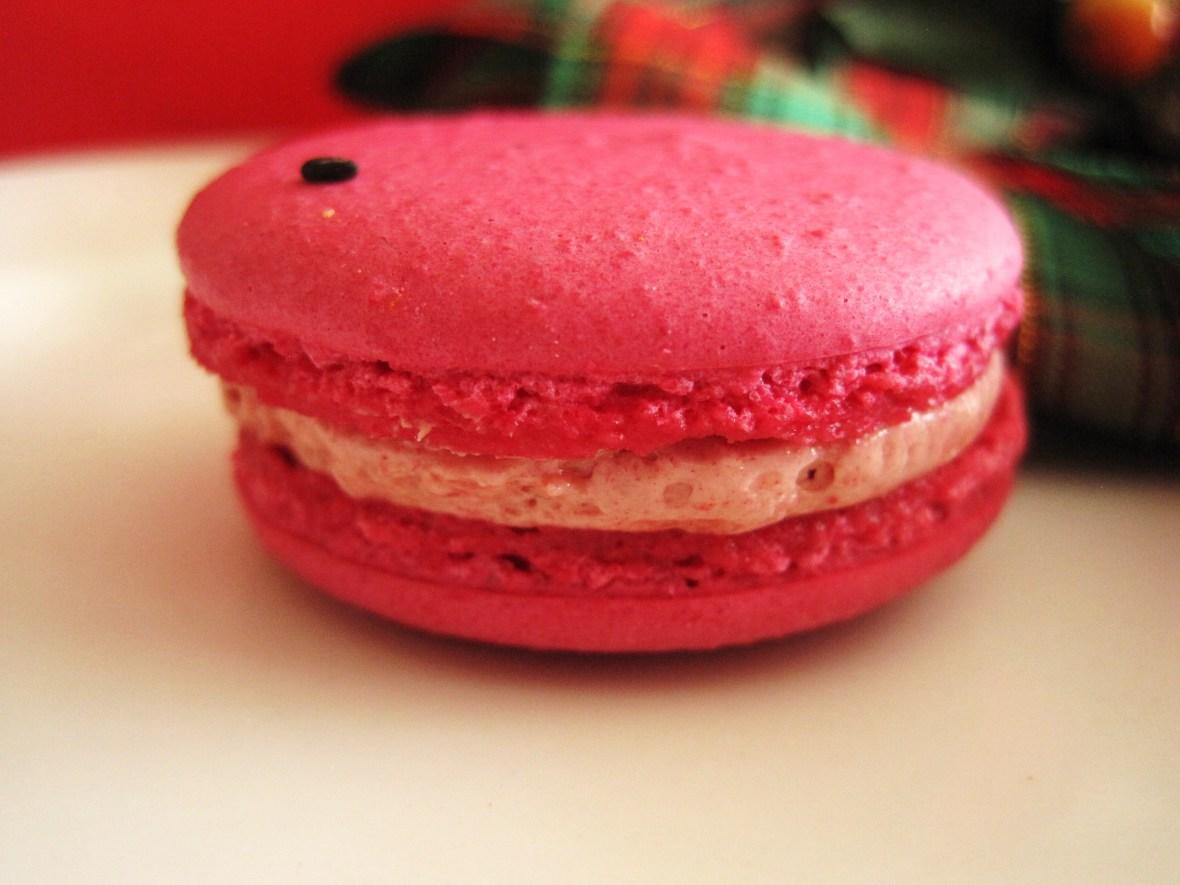 """MoMo & Coco's Advent Calendar 2012 – Christmas with LuxBite - Luxbite's """"Watermelon & Guava"""" macaro"""