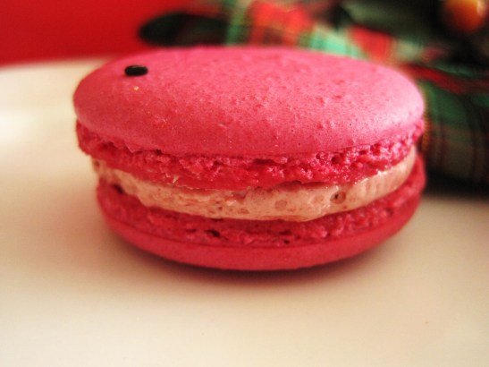 "MoMo & Coco's Advent Calendar 2012 – Christmas with LuxBite - Luxbite's ""Watermelon & Guava"" macaro"