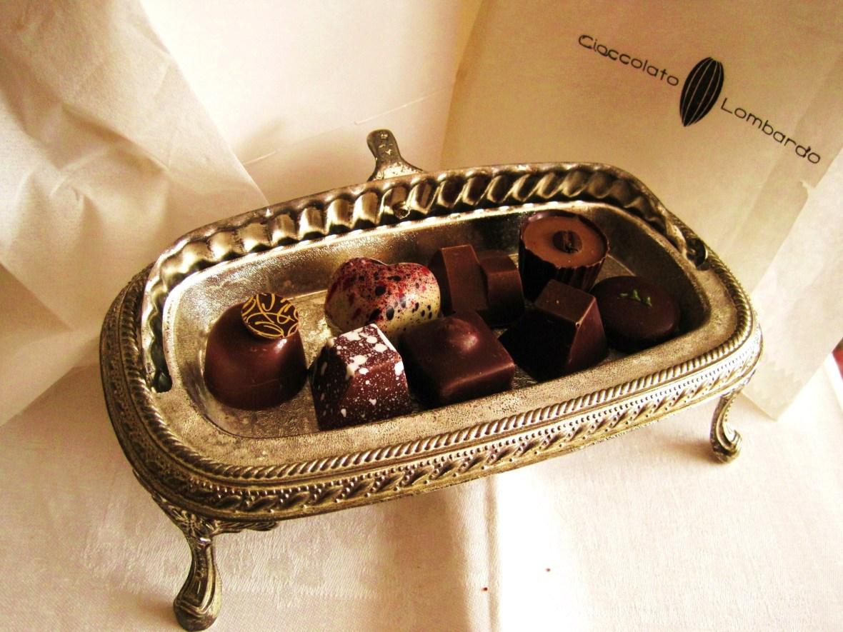 Cioccolato Lombardo - miniature chocolate bites