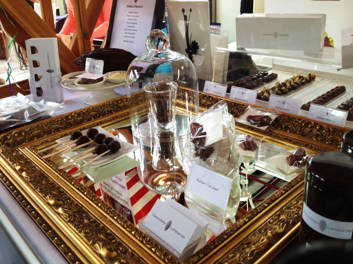 Cioccolato Lombardo - the Prahran market stall