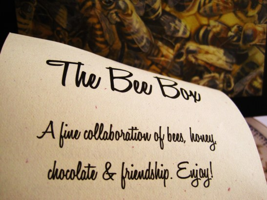 "Cioccolato Lombardo - the ""Bee Box"""
