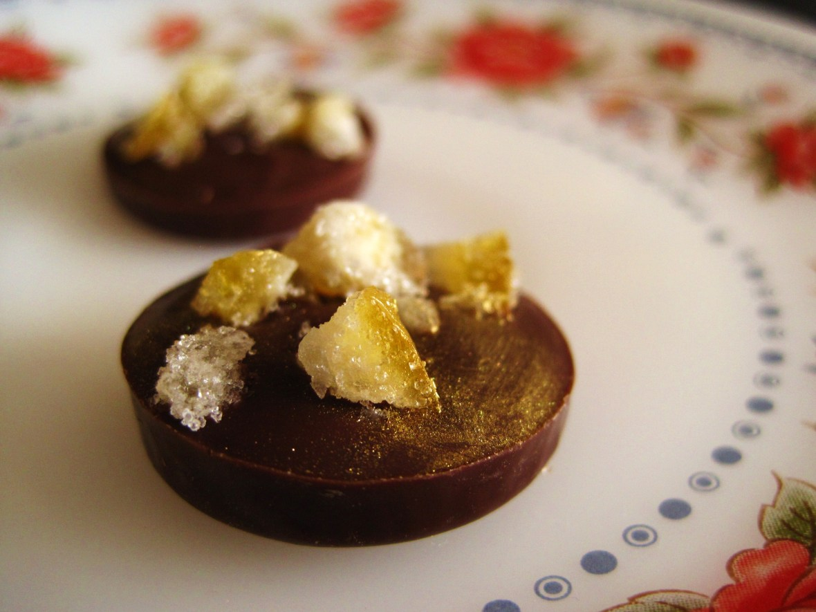 "Cioccolato Lombardo - the ""Bee Box"" - the ""Hazelnut & Orange"""
