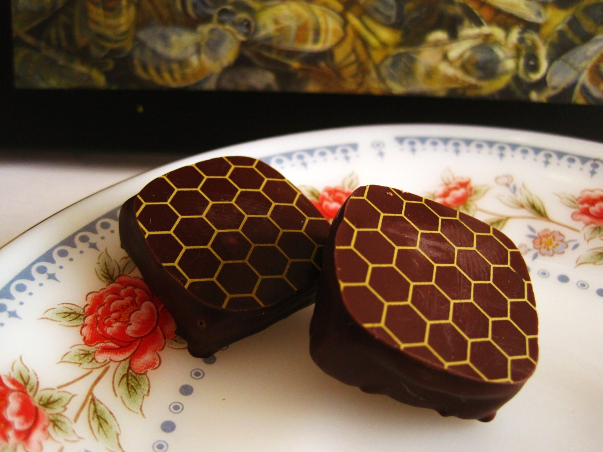 "Cioccolato Lombardo - the ""Bee Box"" - the ""Honey Dark Chocolate"""