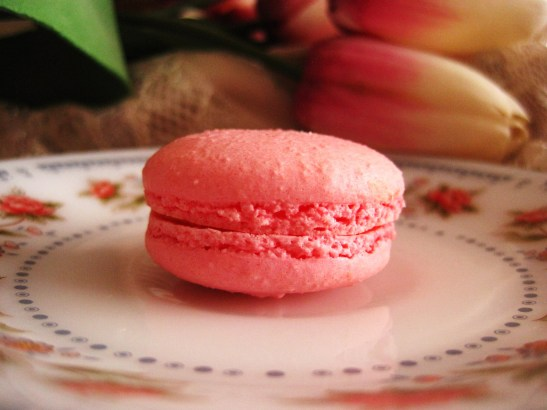 "Macarons by Josephine - the ""Rosewater Macaron"""