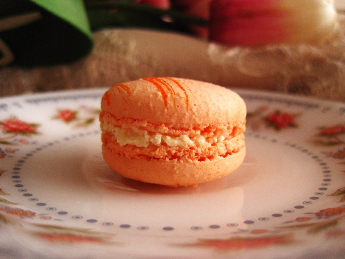 "Macarons by Josephine - the ""Orange Blossom Macaron"""
