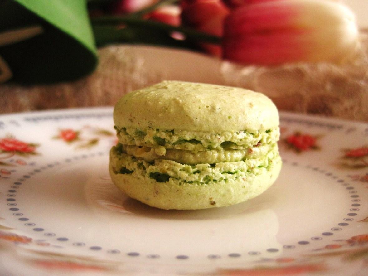 "Macarons by Josephine - the ""Pistachio Macaron"""