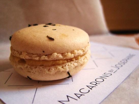 "Macarons by Josephine - the ""Earl Grey Macaron"""