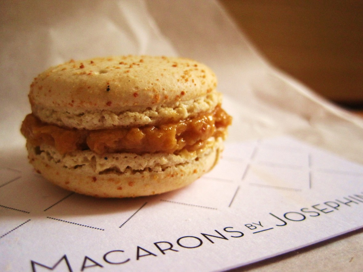 "Macarons by Josephine - the ""Salted Caramel Macaron"""