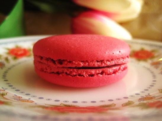 "La Belle Miette III - the ""Raspberry Macaron"""