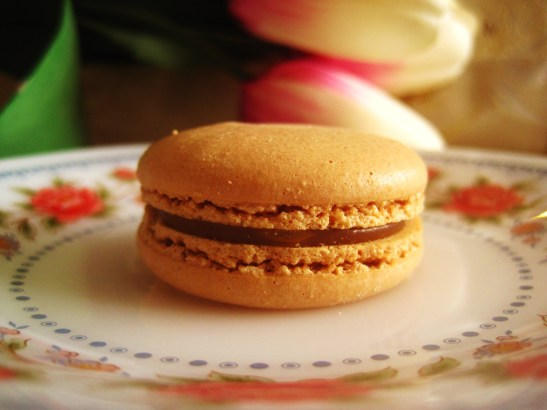 "La Belle Miette III - the ""Salted Caramel Macaron"""