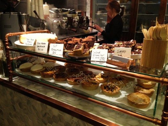 Bowery to Williamsburg - the cake counter