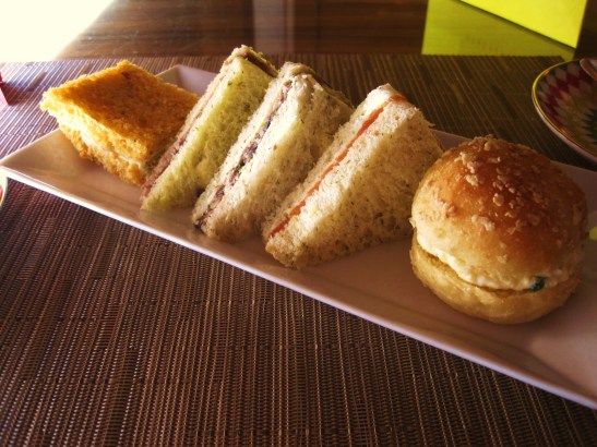 Prêt-à-Portea Afternoon Tea, The Berkeley London - the tea sandwiches