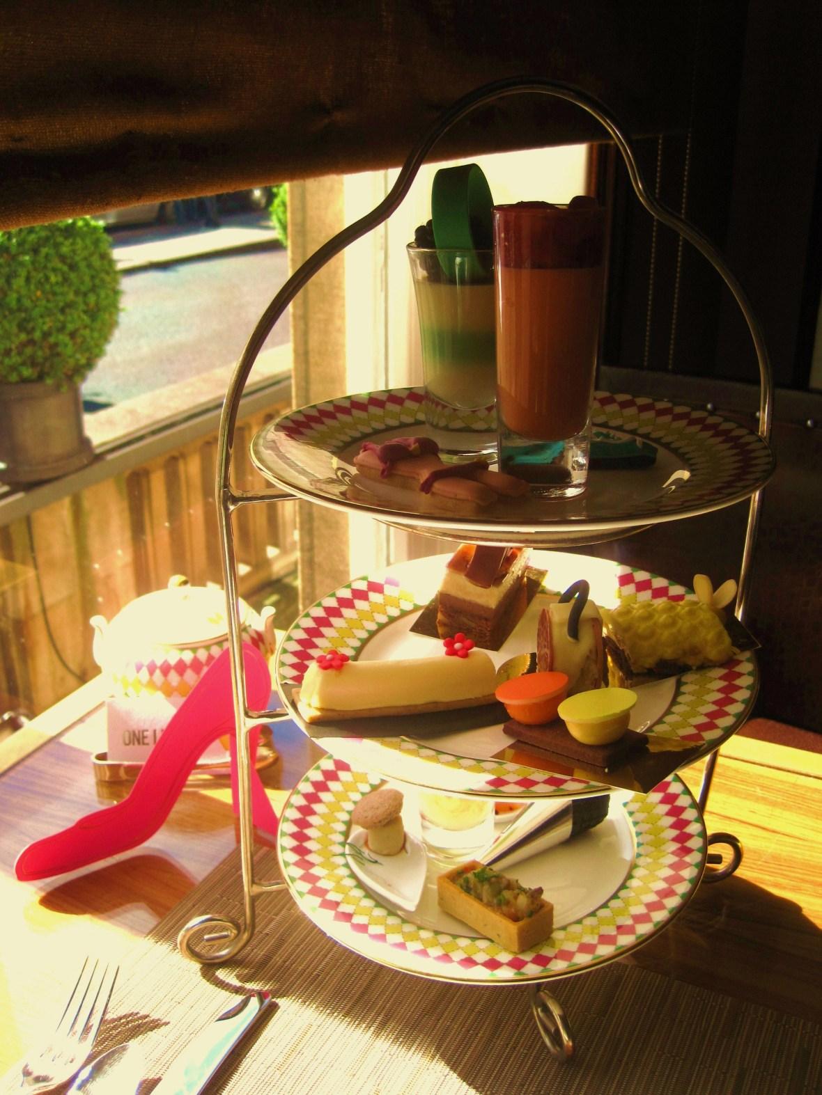 Prêt-à-Portea Afternoon Tea, The Berkeley London - the afternoon tea offering