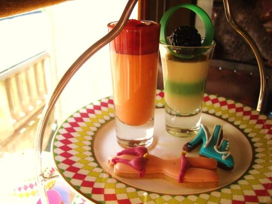 Prêt-à-Portea Afternoon Tea, The Berkeley London - the top tier