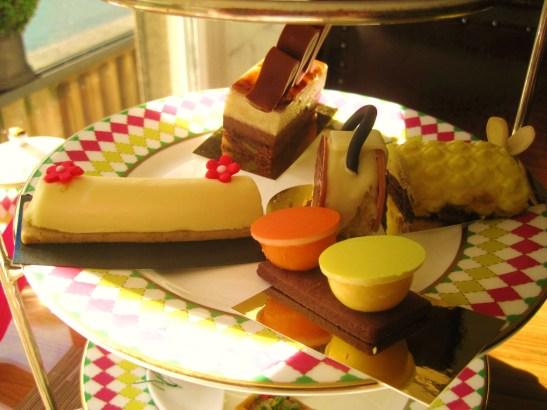 Prêt-à-Portea Afternoon Tea, The Berkeley London - the middle tier