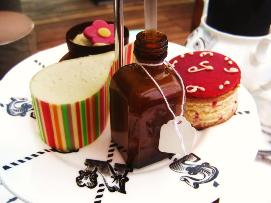 The Sanderson's Mad Hatters Afternoon Tea - the sweets!