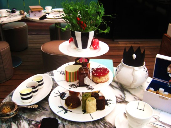 The Sanderson's Mad Hatters Afternoon Tea - the afternoon tea