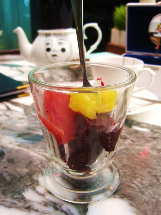"The Sanderson's Mad Hatters Afternoon Tea - the ""Jelly Wonderland"""