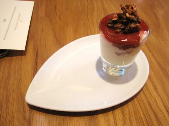 "MoMo & Coco's Belgravia Chocolate Hop, London - William Curley Dessert Bar - the ""Vanilla Rice Pudding"""
