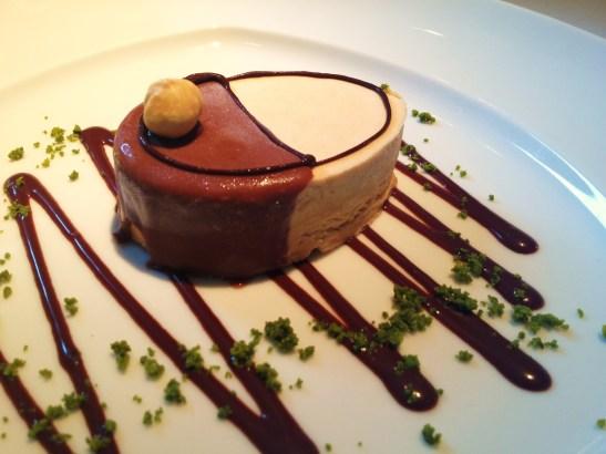 "The Montagu London - Charlie and the Chocolate Factory Desserts - ""Veruca's Hazelnut Parfait"""