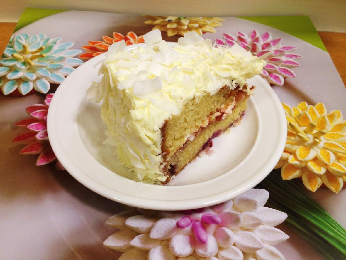 """Alice Nivens Cafe - the """"White Rabbit Cake"""""""