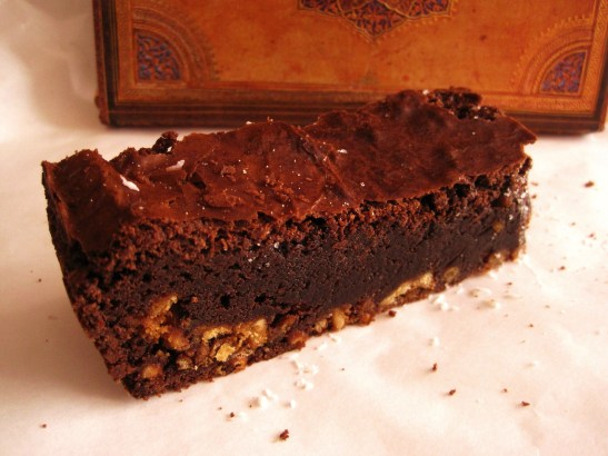 "Candied Bakery - the ""Pretzel Crust Brownie"""
