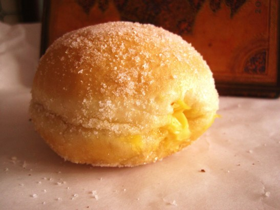 "Candied Bakery - the ""Zuppa Inglese Doughnut"""
