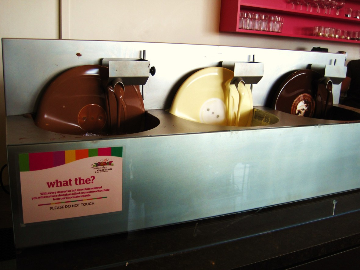 Yarra Valley Chocolaterie and Ice Creamery - the chocolate shop section