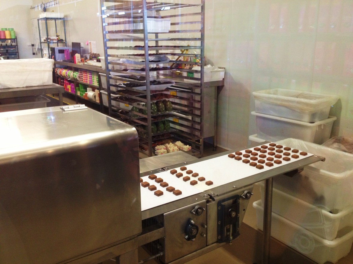 Yarra Valley Chocolaterie and Ice Creamery - the chocolate-making process