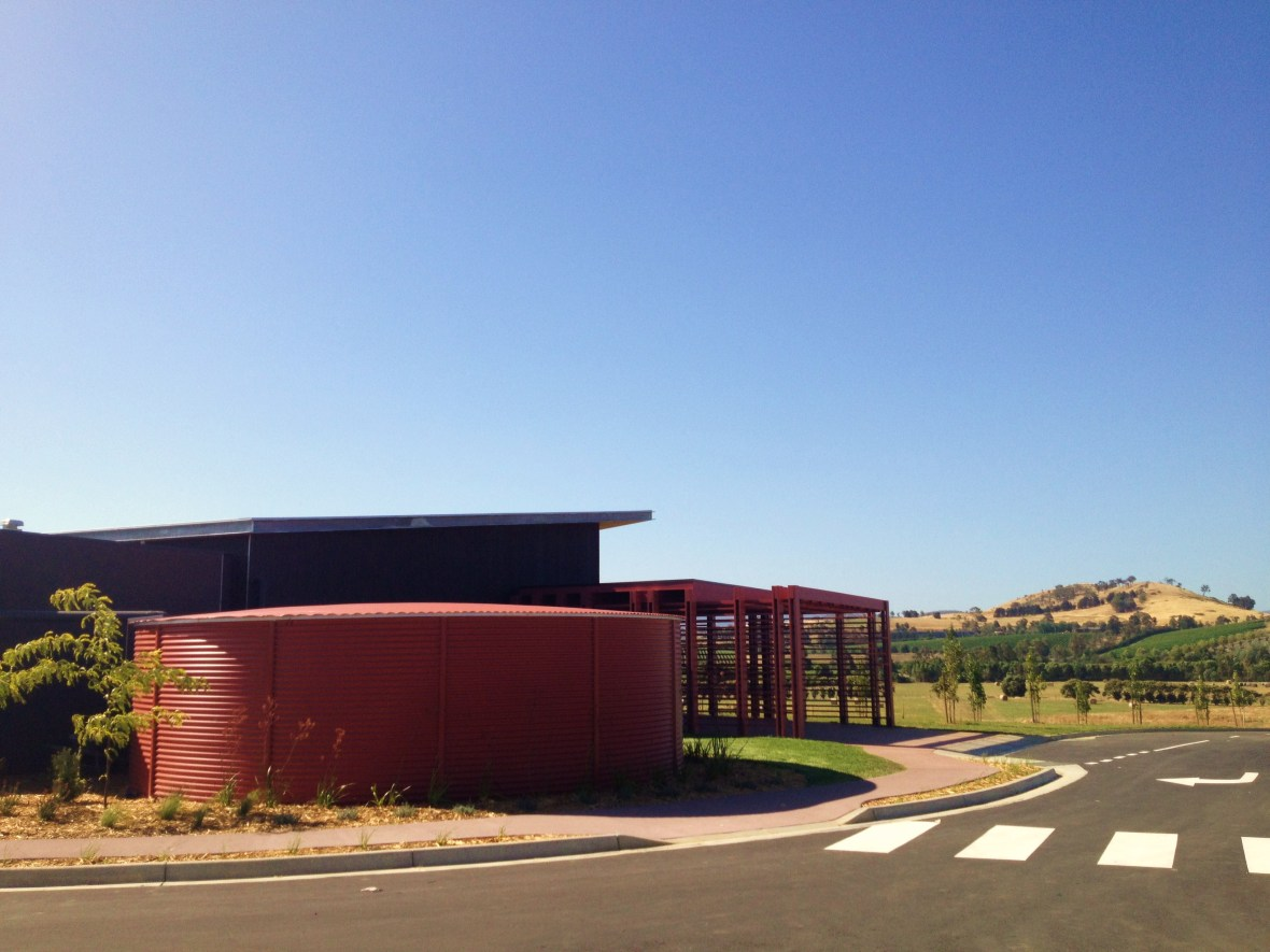 Yarra Valley Chocolaterie and Ice Creamery - on a hilltop
