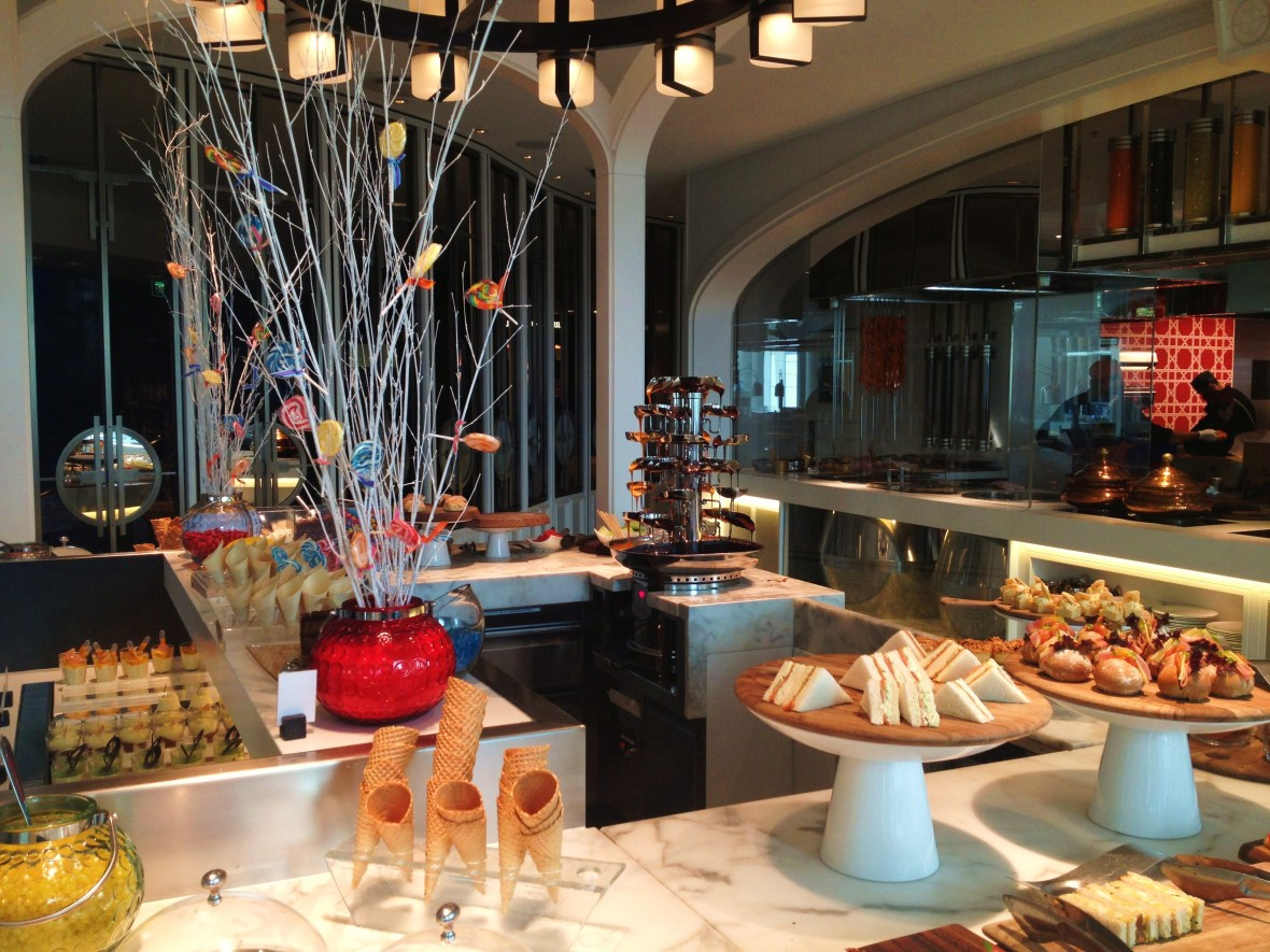 Afternoon Tea at The Conservatory - the afternoon tea buffet