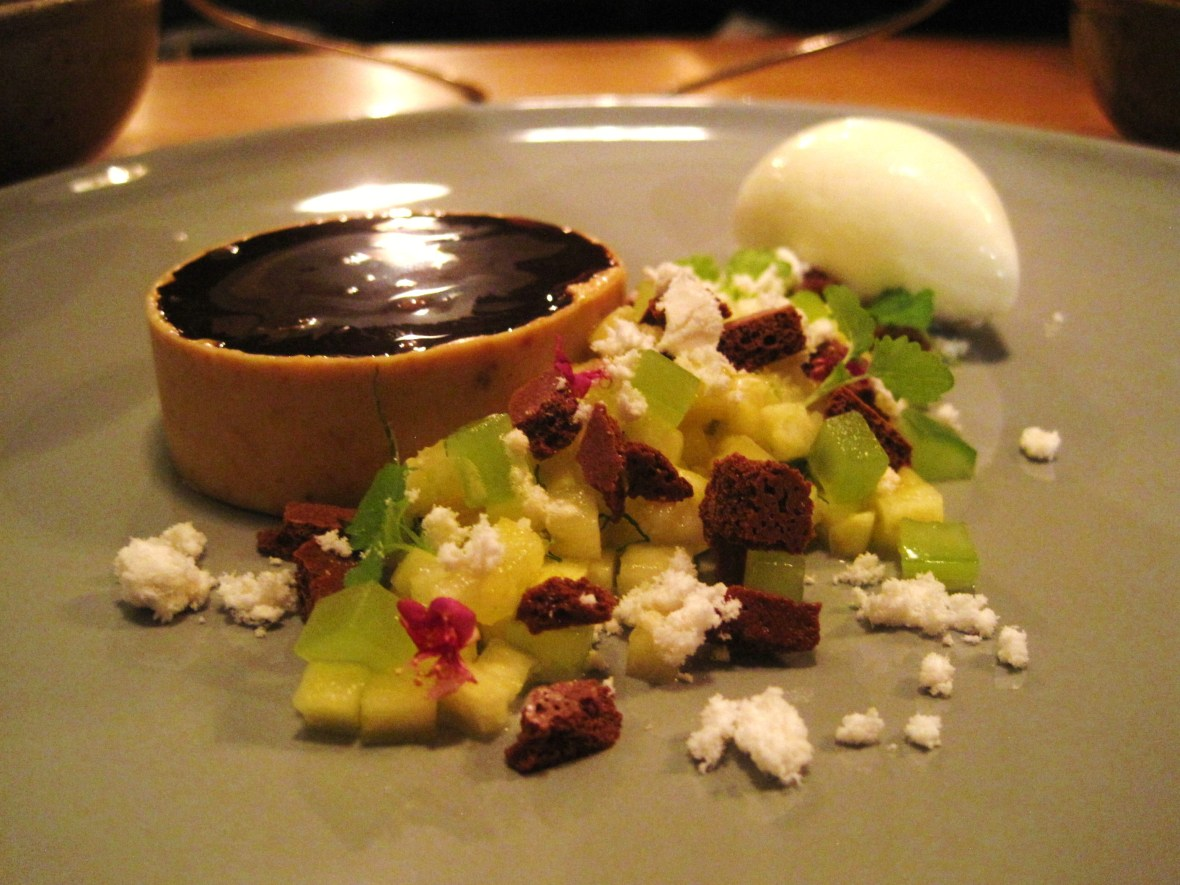 "The TownMouse - the ""Chocolate Tart, Thai Flavours"""
