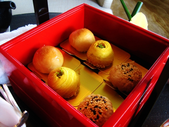 Intercontinental Hong Kong - the Red Box Chinese Afternoon Tea - the savoury nibbles