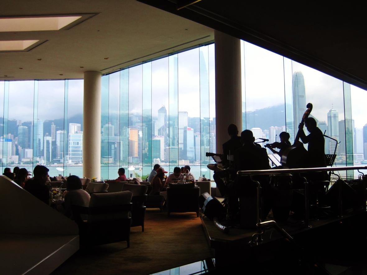 Intercontinental Hong Kong - the setting