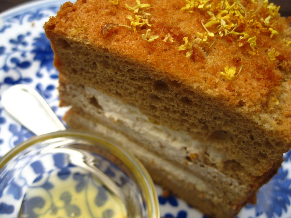 """Teakha - the """"Osmanthus Chiffon Cake"""""""