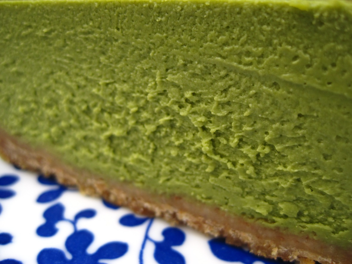 "Teakha - the ""Green Tea Cheesecake"""