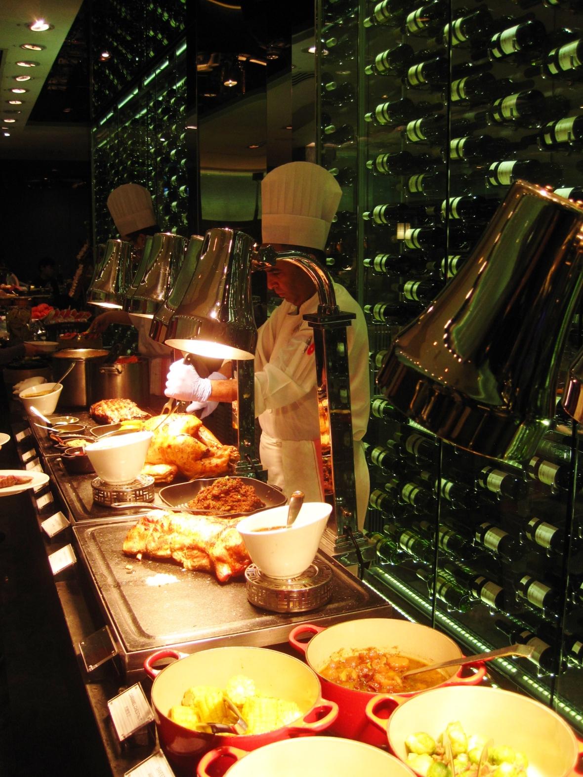 Christmas at Yamm, The Mira - the savoury buffet