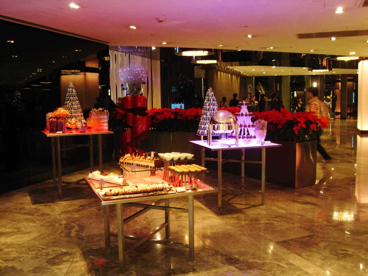 Christmas at Yamm, The Mira - the dessert buffet