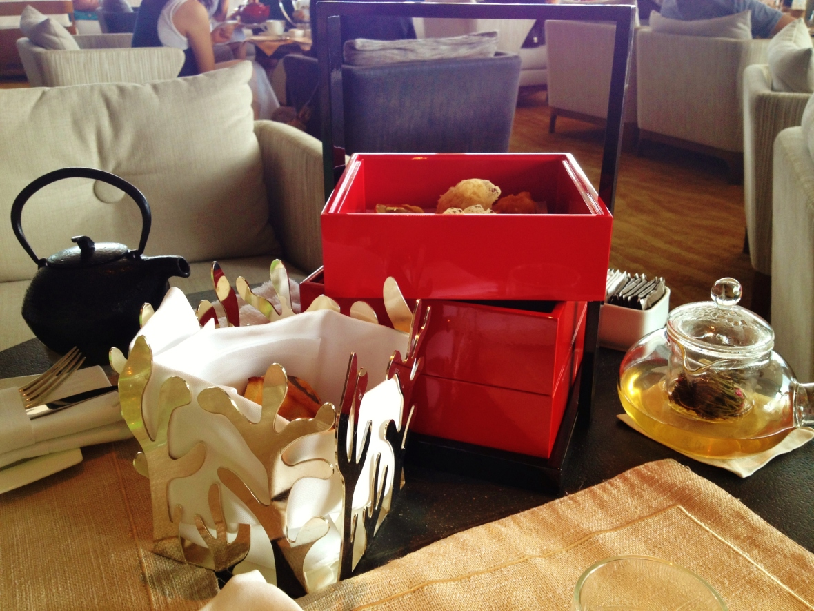 Intercontinental Hong Kong - the Red Box Chinese Afternoon Tea