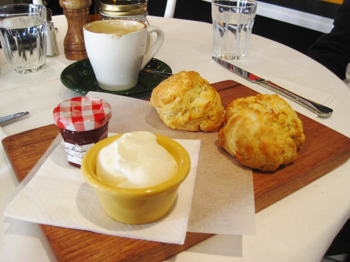 Afternoon Tea at the Stables at Como House - Devonshire Tea