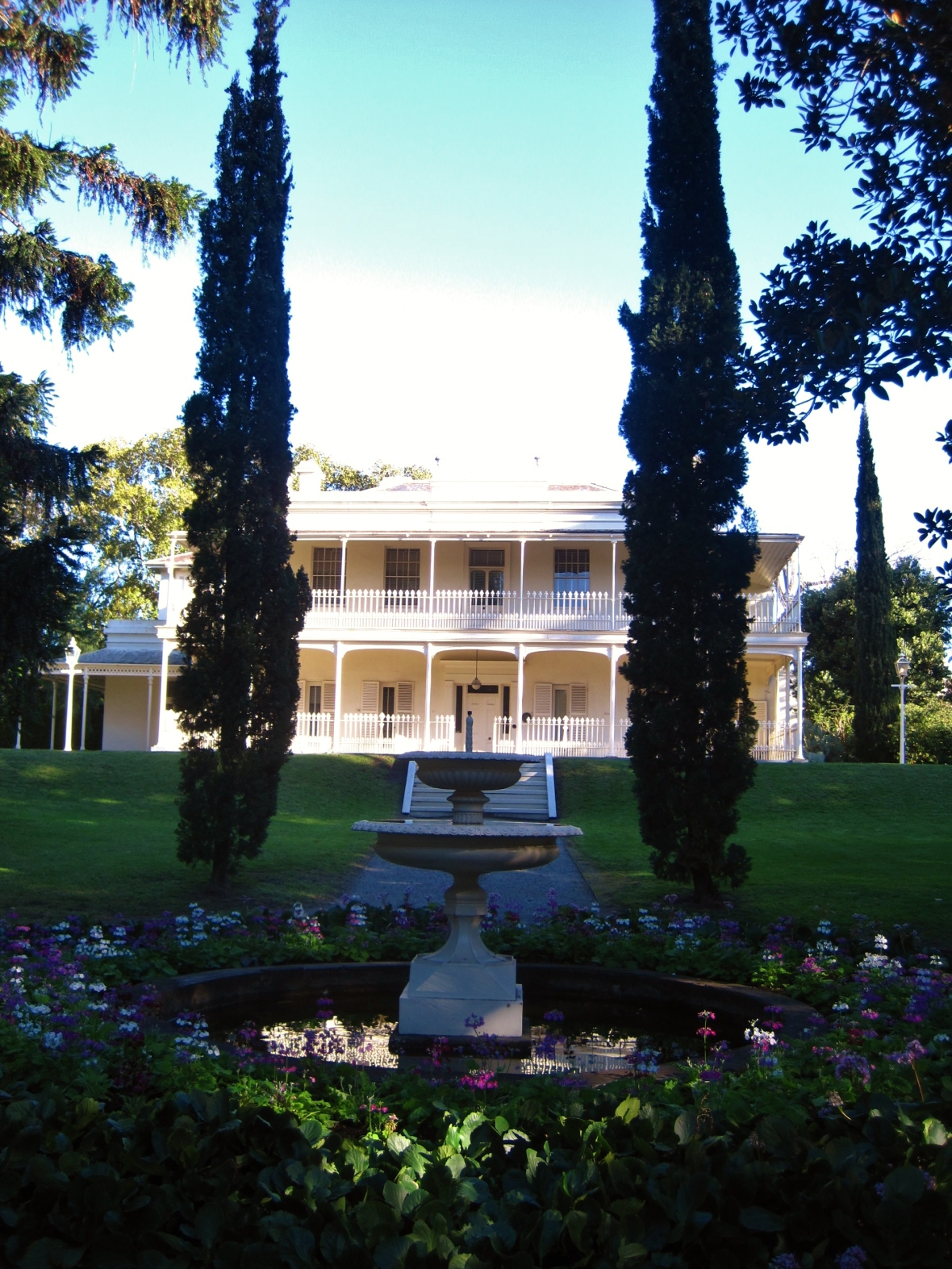 Afternoon Tea at Como House - the setting